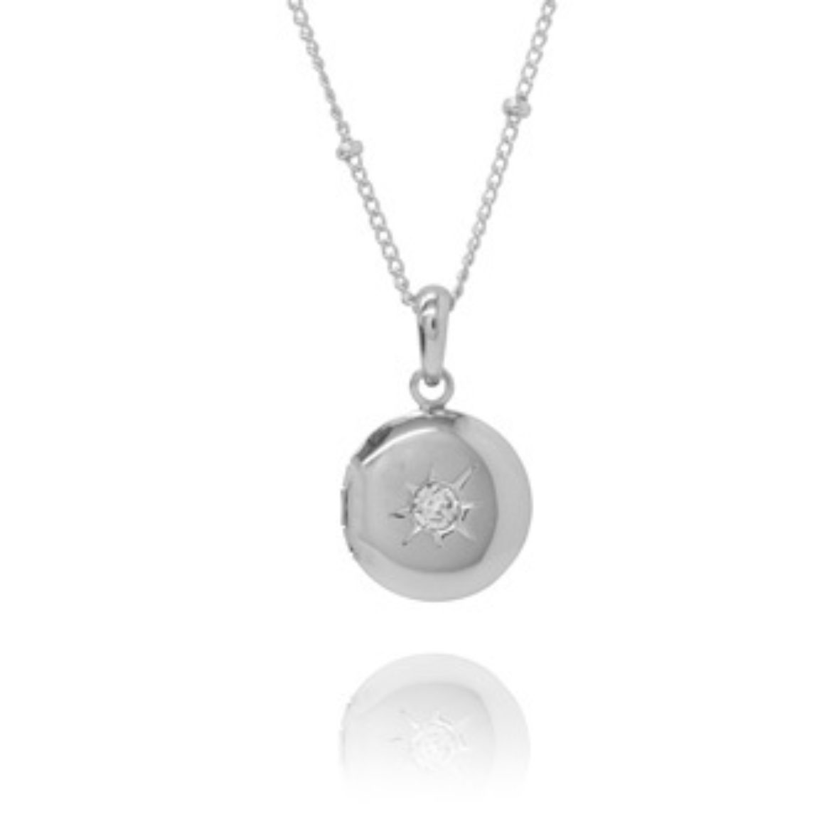 Symbolic jewellery meanings charm meanings symbolic locket charm necklace in silver aloadofball Images