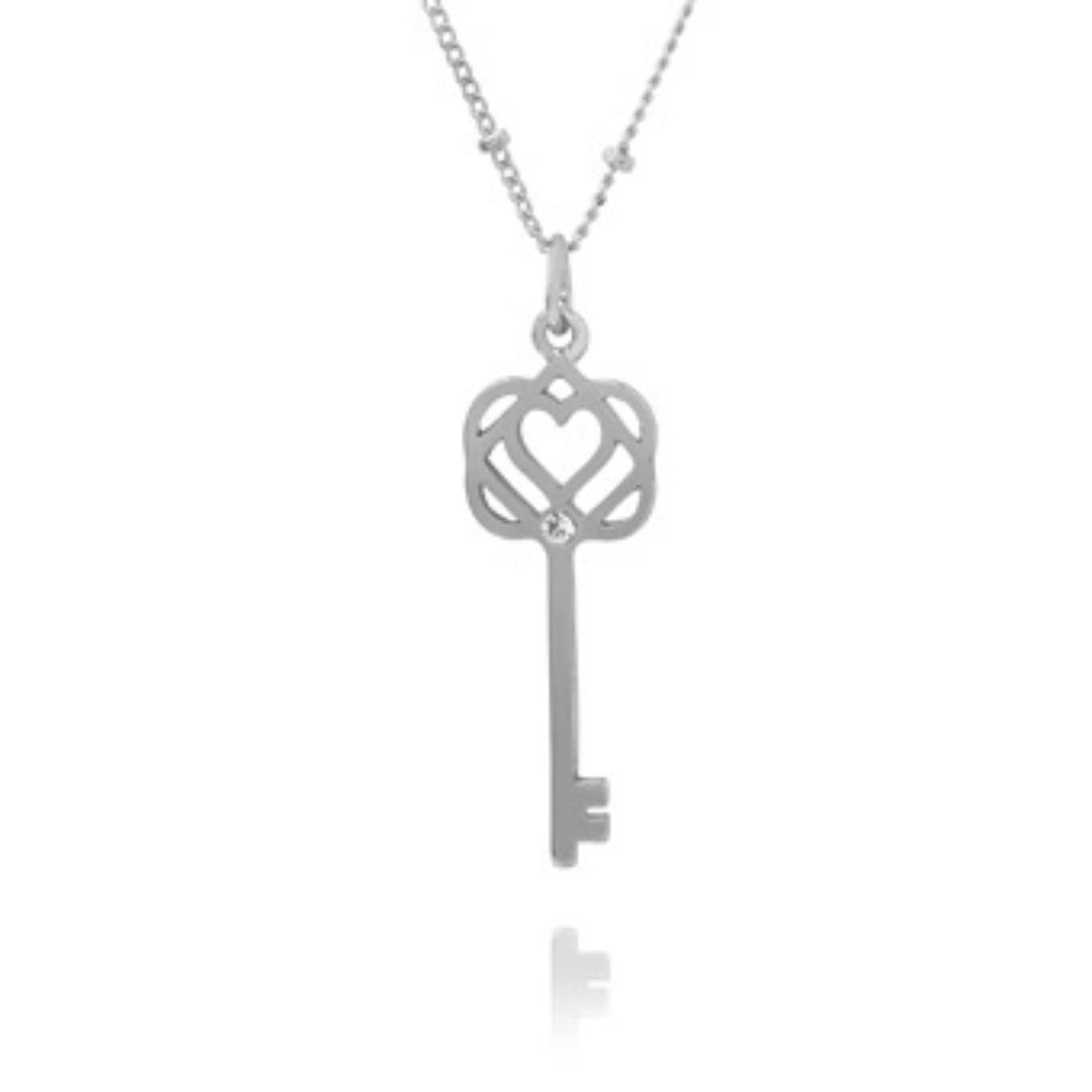 Symbolic jewellery meanings charm meanings silver key charm necklace buycottarizona Choice Image